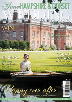 Cover of Your Hampshire & Dorset Wedding, September/October 2021 issue