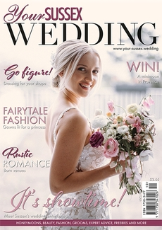 Cover of Your Sussex Wedding, October/November 2021 issue
