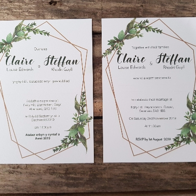 How to incorporate an outdoor theme into your stationery