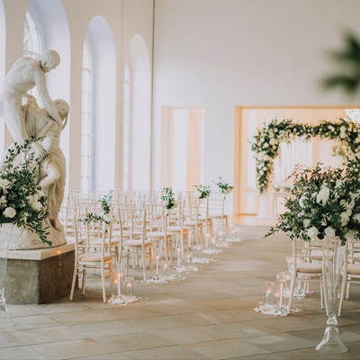 Say your vows at The Orangery