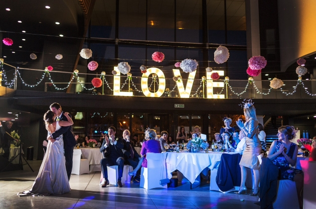 Dance the night away at local wedding venue, Royal Welsh College of Music and Drama