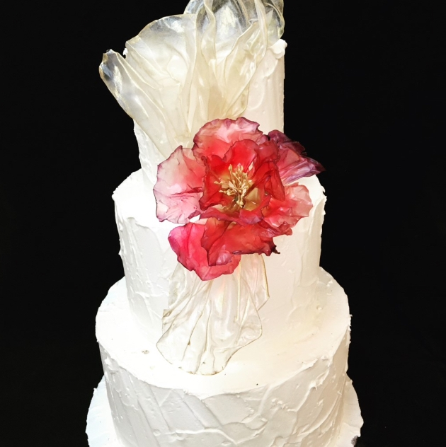 Cakes Especially is offering a discount on three-tier wedding cakes