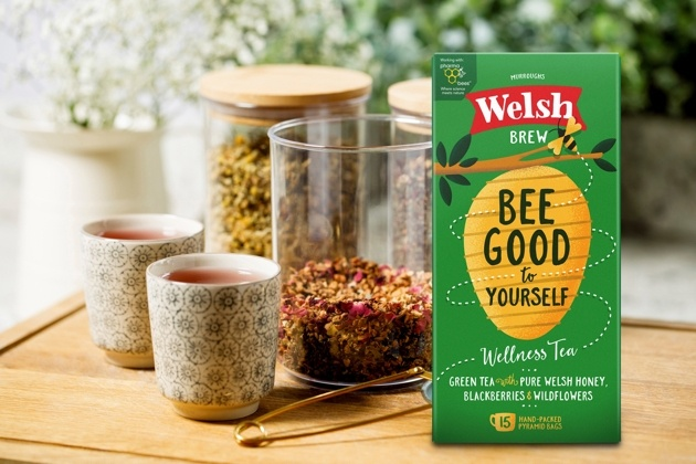 Welsh Brew Tea has teamed up with Cardiff University to create a new wellness green tea