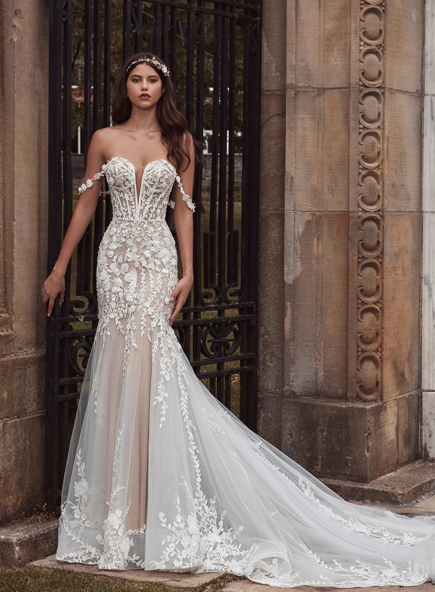 Yasmin Rose Bridal showcases the latest on-trend wedding dresses