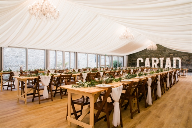 Tie the knot at Cardigan Castle