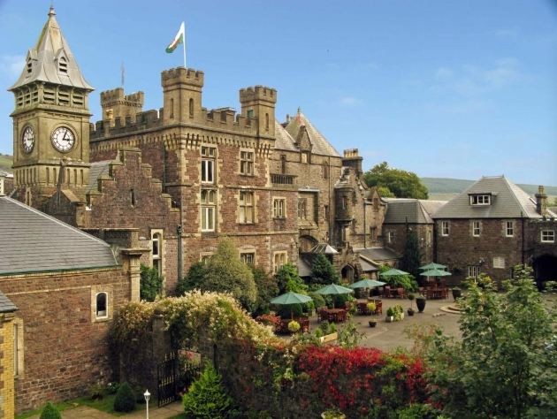 Get married at the historic Craig Y Nos Castle