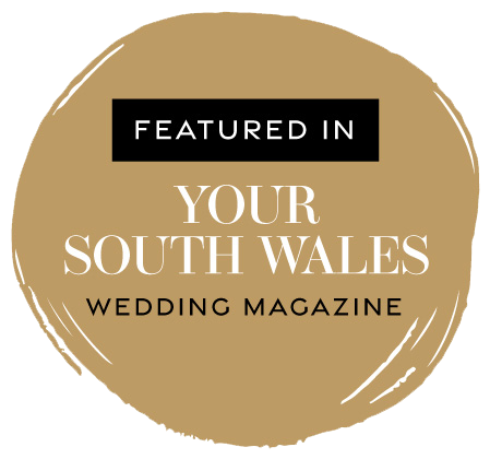 Featured in Your South Wales Wedding magazine